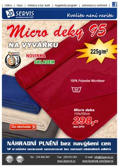 ★ ★ Nové měkké a hřejivé Micro deky na vyvářku ★ ★