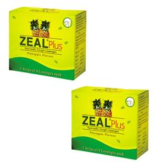"2 x Zeal Plus Ayurvedic cough Lozenges - - ""Expedited International Delivery by USPS / FedEx """