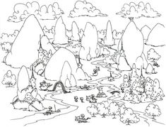 20 Forest Coloring Pages Forest coloring pages 1 Free Coloring Forest Coloring Pages, Animal Coloring Pages, Colouring Pages, Coloring Sheets, Coloring Pages For Kids, Coloring Books, Online Coloring, Free Coloring, Fantasy Forest