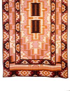 "Brown Multi Navajo Tie All Scarf Theodora and Callum 40 x 78"""