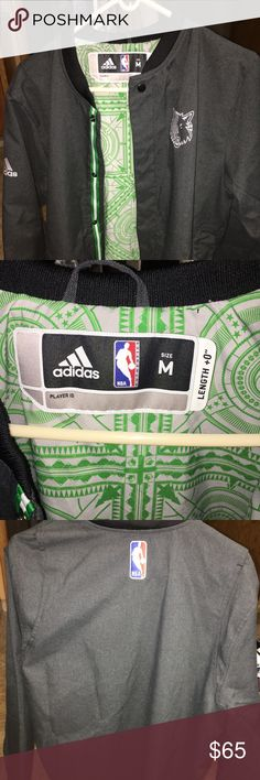 Minnesota Timberwolves Adidas Authentic Jacket. Minnesota Timberwolves NBA Adidas Grey Authentic On-Court Faster Warmup Performance Jacket. New! Never worn. Sleeves too long for me. $65 OBO adidas Jackets & Coats Performance Jackets