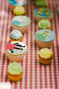 Princess Peppa Pig Picnic Party with Lots of Really Cute Ideas via Kara's Party Ideas KarasPartyIdeas.com #PicnicParty #PeppaPigParty #PartyId...