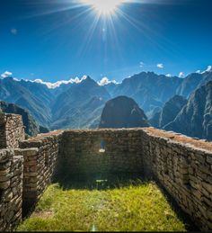 The sun is truly amazing, especially whnen you're able to look at it from Machu Pichu. How can you not enjoy this view and want to go 8000 feet high and look over Urubamba River. Make Peru your next travel destination.