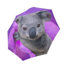 Koala Foldable Umbrella. FREE Shipping. FREE Returns. #umbrellas #koala