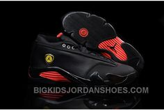 Nike Air Jordan 14 Retro Low Black Red 2016 Discount 171239 80d1b50ca