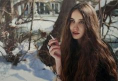 Yigal Ozeri - At first glance, Yigal Ozeri may seem like a photographer, but the Israeli artist is actually a painter specializing in photo-realistic art. Ozeri&...