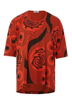Snake Print T-Shirt Red #MAN #SS14