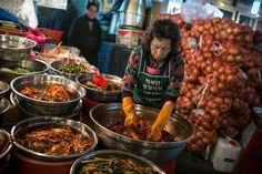 South Korea is not permitted to export kimchi, fermented cabbage, to China, but cheaper Chinese kimchi flows freely into South Korea, competing with the domestic product.