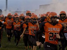 The Republic Tigers take on the Webb City Cardinals at Republic on Friday, Sept. 12, 2014.