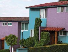 casas exteriores naranja google exterior pintura