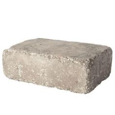 Pavestone RumbleStone 3.5 in. x 11.4 in. Greystone Concrete Edger 95534 at The Home Depot - Mobile