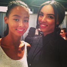 Faces of New York Fashion Week #MBFW #NYFW #Fashion #Backstage #brunette