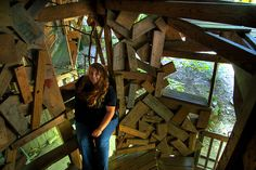 Alexis Lienhart, The Minister's Tree House, Crossville, TN by Chuck Sutherland, via Flickr