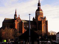 Stralsund - Weltkulturerbe an der Ostsee - bekannt für seine imposanten Kirchenbauten.