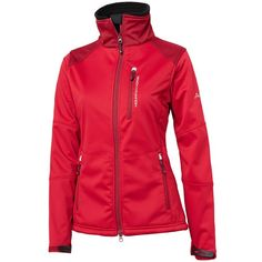 Mountain Horse Ladies Monrose Red Softshell Jacket | Equestrian Clothing |