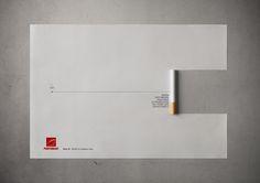 World No Tobacco Day: Time Line When you smoke you have 10 years less on your life expectancy. Advertising Agency: D/Araújo, Brazil Creative Director: Luiz Dias Art Director: Rivadávia Coura Copywriter: Bruno Aydos