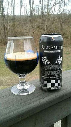 Ale Smith Brewing Co. Speedway Stout - Imperial Stout brewed with coffee - 12% ABV