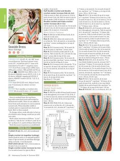 crochet dress free pattern 5