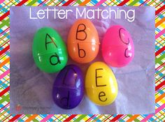 Your students will be learning, having fun, and celebrating the joy of Easter with these educational Easter egg activities. crafts for elderly 8 Educational Easter Egg Activities Preschool Learning Activities, Spring Activities, Alphabet Activities, Toddler Learning, Classroom Activities, Easter Crafts, Toddler Activities, Preschool Activities, Kids Learning