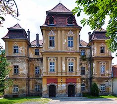 Pozsonynádas Motesiczky-kastély House Facades, Facade House, Beautiful Castles, Homeland, Hungary, Old Houses, Attraction, Palace, Medieval