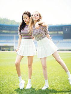 korean fashion / kfashion / summer look / tennis skirt Kawaii Fashion, Cute Fashion, Skirt Fashion, Fashion Outfits, Womens Fashion, Fashion Clothes, Fashion Ideas, Kfashion Summer, Ulzzang Fashion