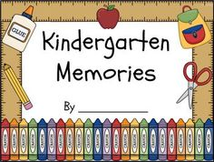 Finally a Kindergarten friendly end of year memory book!  I love having my class make end of the year books but most of the versions I've tried have pages with lots of questions and small lines.  These were just too frustrating for my emergent readers and writers to do independently, so I created this easy to use version.