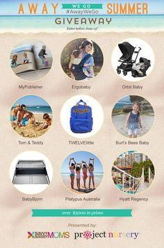 Enter to win over $3000 in prizes in the Away We Go Summer Giveaway with @savvysassymoms! #AwayWeGo