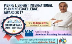 Bhubaneswar, the capital city of Orissa has become the first Indian city to win Pierre L'enfant International planning excellence award-2017.  Instituted by the American Planning Association (APA), Orissa's capital Bhubaneswar was recently chosen for Pierre L'enfant International planning excellence award-2017. The Bhubaneswar city was honoured at the Awards Luncheon at APA's National Planning Conference in New York on May 8th, 2017. The city bagged the prestigious award for its good and…