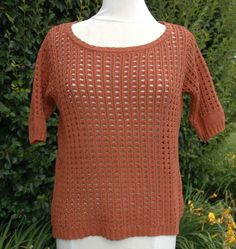 W's Lucky Brand Ginger Open Weave Sweater Sz XL 7WD5144 $69.50 NWT #LuckyBrand #OpenWeave