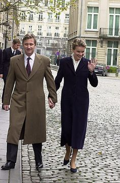 King Philippe of Belgium and Queen Mathilde of Belgium