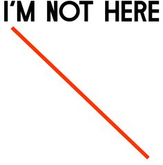 I'm not here / An exhibition without Francis Alys