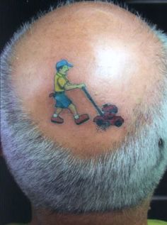 A good sense of humor is a God gifted thing which made a place in hearts. We listed 20 ridiculously hilarious tattoos that are clever as well as funny. Best 3d Tattoos, Weird Tattoos, Funny Tattoos, Body Art Tattoos, Cool Tattoos, Tatoos, Funniest Tattoos, Amazing 3d Tattoos, Creative Tattoos