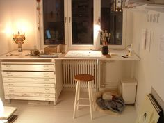 camilla engman working space : ideas for dry side of my studio...