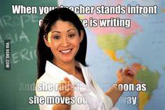 I hate teachers who do this