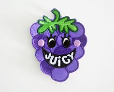Juicy Grape patch on Etsy, $4.50