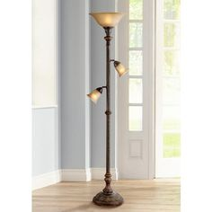 Kathy Ireland Buckingham Torchiere Floor Lamp - Style # U8761 ...