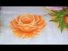 Vida com Arte | Pintura em Tecido Molhado Motivo Rosas por Luis Moreira - 03 de Junho de 2014 - YouTube