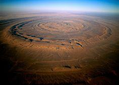 Estructura de Richat (Mauritania), el Ojo de África - Lugares donde te sentirás en otro mundo