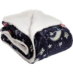 Curl up with something cozy. This super soft throw from Vera Bradley is generously sized for keeping warm and toasty. Details: Velvet fleece throw blanket lined with sherpa fabric. Keep Warm, Beautiful Bags, Night Skies, Vera Bradley, Baby Car Seats, Owl, Blanket, Pattern, College Essentials