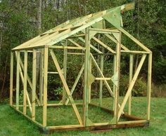 Resources for Free Greenhouse Plans: I'm going to have one of these wherever my home is...glad to have this for sure! :)
