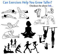 Exercises To Grow Taller - These exercises stimulate the release of growth hormone which helps you increase your height faster.