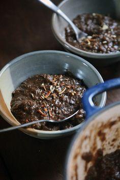Breakfast. Øllebrød (Danish Rye Bread Porridge). Use leftover rye bread and make ready the night before.