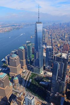 The new World Trade Center.