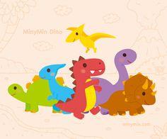미니민 공룡 친구들 (MinyMin Dino) – 미니민 MinyMin