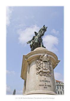 Estátua equestre de D. Pedro IV / Estátua ecuestre de D. Pedro IV / Equestrian Statue of D. Pedro IV (Célestin Anatole Calmels) [2013 - Porto / Oporto - Portugal] #fotografia #fotografias #photography #foto #fotos #photo #photos #local #locais #locals #baixa #baja #downtown #cidade #cidades #ciudad #ciudades #city #cities #europa #europe #turismo # tourism @Visit Portugal @ePortugal @WeBook Porto @OPORTO COOL @Oporto Lobers