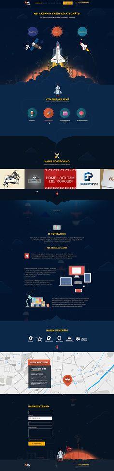 Unique Web Design, Na Mars #WebDesign #Design