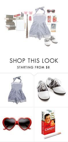 """""""nymphet"""" by naughty-nymphets ❤ liked on Polyvore featuring Pinup Couture, Barlow, ZeroUV, Bite, cute, innocent, nymphet, lolita1997 and nymphetfashion"""