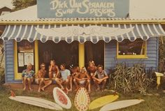 Dick Van Straalen Surf Designs