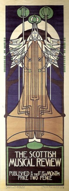 "Charles Rennie Mackintosh, 1896, ""The Scottish Musical Review""."