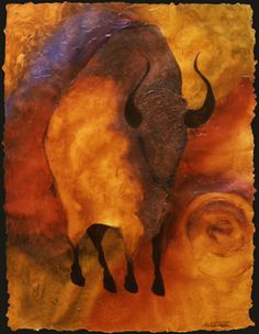 buffalo cave Painting | Cave Paintings Native Art, Native American Art, Paleolithic Art, Stone Age Art, Cave Drawings, Aboriginal Art, Old Art, Wildlife Art, Ancient Art